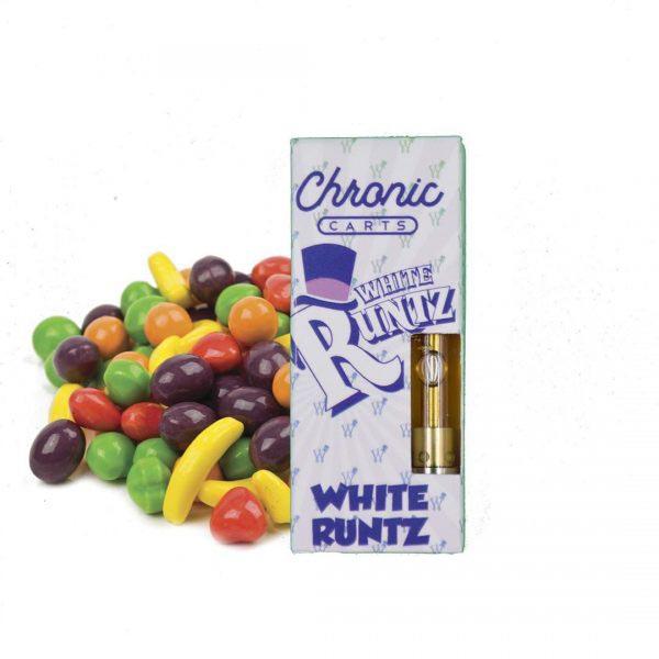 white runtz chronic carts